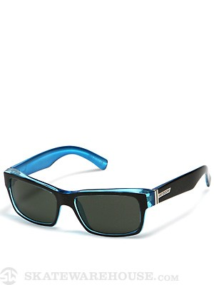 VZ Fulton Black Blue w/Grey Lens