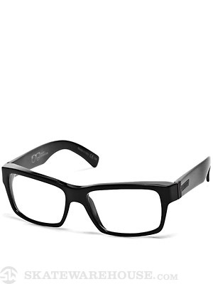 Von Zipper Fulton Nerdz Black Gloss/Clear Lens