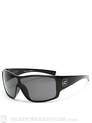 Von Zipper Herq Black Gloss/Grey Poly Polarized