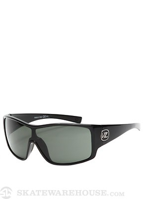 Von Zipper Herq Black Gloss/Grey Lens