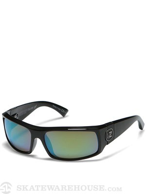 VZ Kickstand Glass Polarized Blk Gloss/Grn Chrome