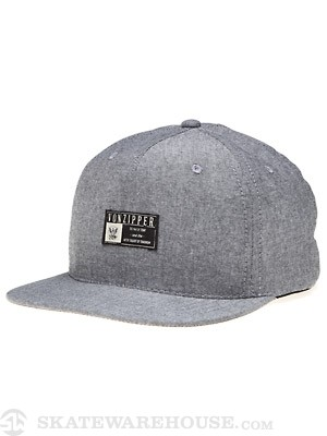 Von Zipper Native Son Hat Grey Adj.