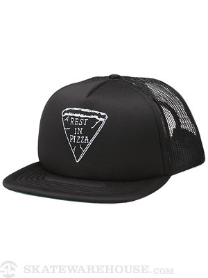 Von Zipper RIP Mesh Hat Black Adjust