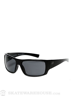 Von Zipper Suplex Black Gloss/Grey Polarized Lens