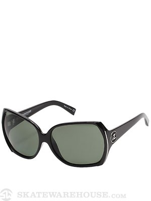 VZ Trudie Girls Black Gloss w/Grey Polarized Lens