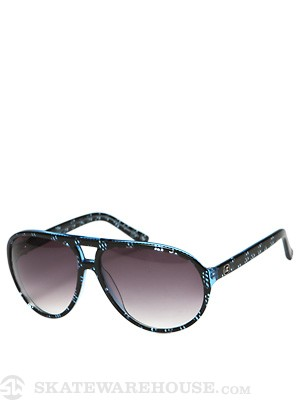 Von Zipper Telly Halftone Blue/Grey Gradient Lens