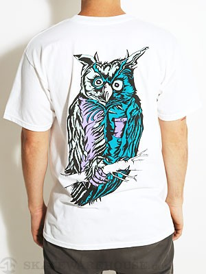Welcome Owl Tee White SM