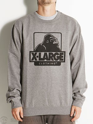 X-Large OG Crewneck Sweatshirt Ath Heather XL