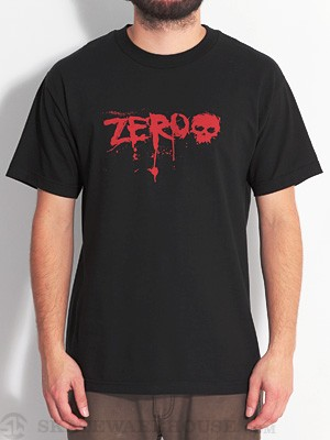 Zero Blood Tee Black LG