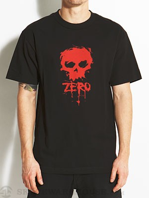 Zero Blood Skull Tee Black SM