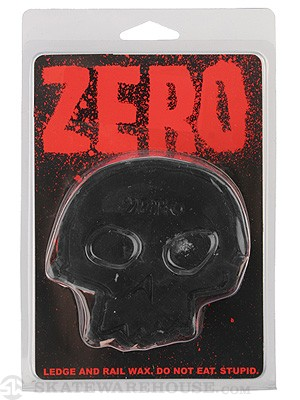 Zero Skull Curb Wax Black