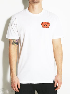 Zoo York Westgate Chainsaw Tee White XL