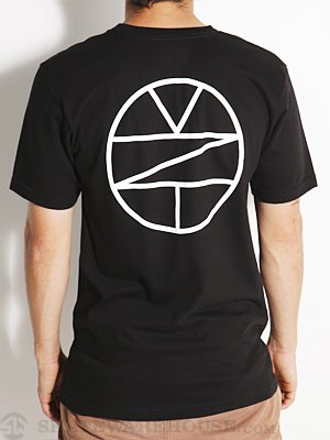 Zoo York Circle Tee Black SM
