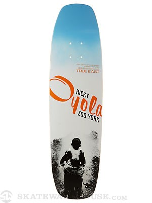 Zoo York Oyola Hydrant Reissue Cruiser Deck 8.25 x 30.5